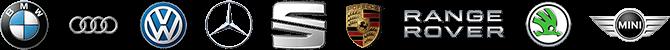 Bmw, Audi ve Volkswagen, Seat, Skoda, Mini Couper, Porshe,Rover, Mini